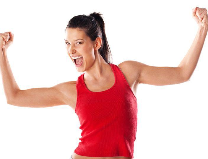 как похудеть в руках и подмышках