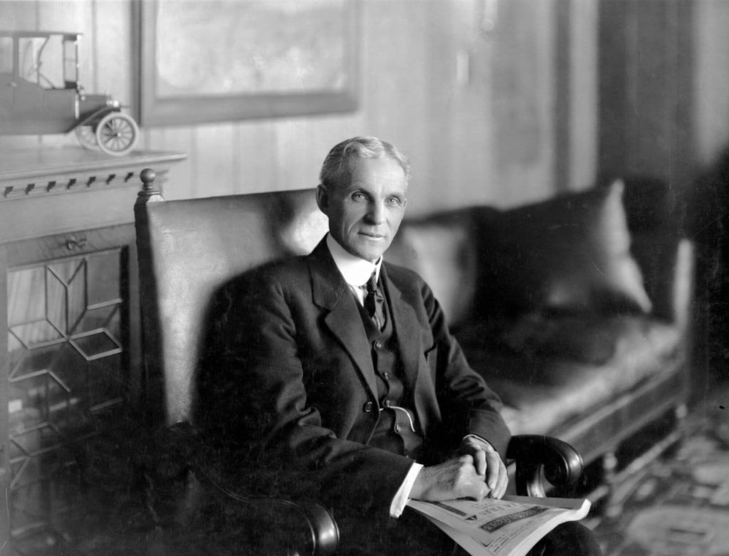 henry ford as a pioneer of Henry ford did not invent the car he produced an automobile that was within the economic reach of the average american it was the great common sense that mr ford could apply to new ideas and his ability to simplify seemingly complicated problems that made him the pioneer he was.