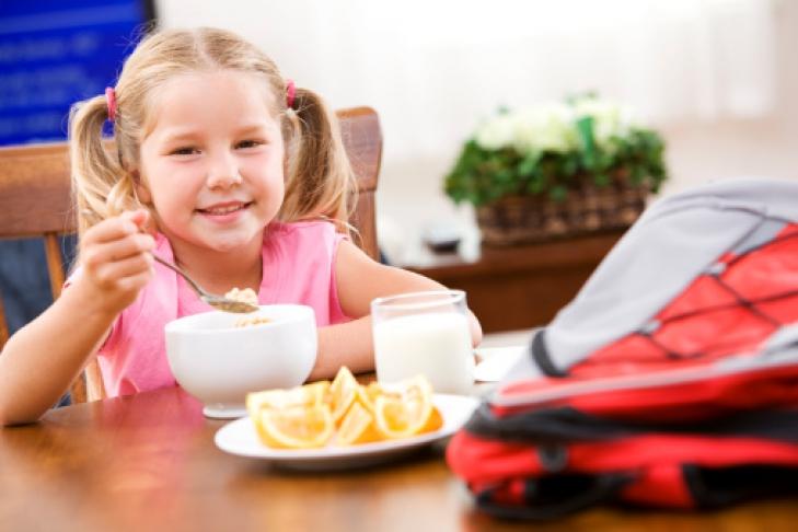 Завтрак в картинках для школьников, роза фоамирана